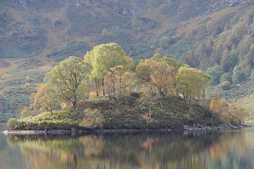 Eiland in Loch Katerina