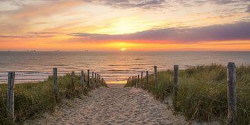 Sonnenuntergang auf See von Dirk van Egmond