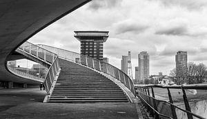 De brug op van
