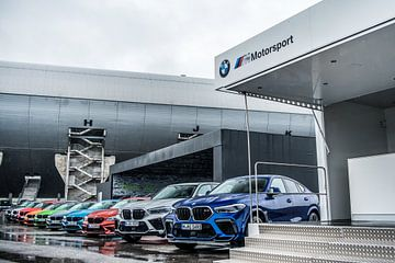BMW M-Modelle in einer Reihe von Bas Fransen