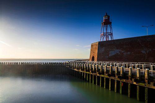 pier bij de haven van Vlissingen langs de Zeeuwse kust van gaps photography