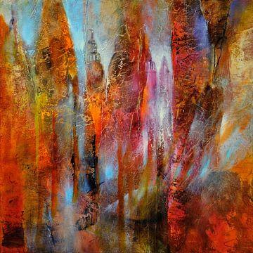 Lente in de Schlossallee van Annette Schmucker