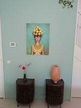 Photo de nos clients: Dame aux citrons sur Britta Glodde, sur toile