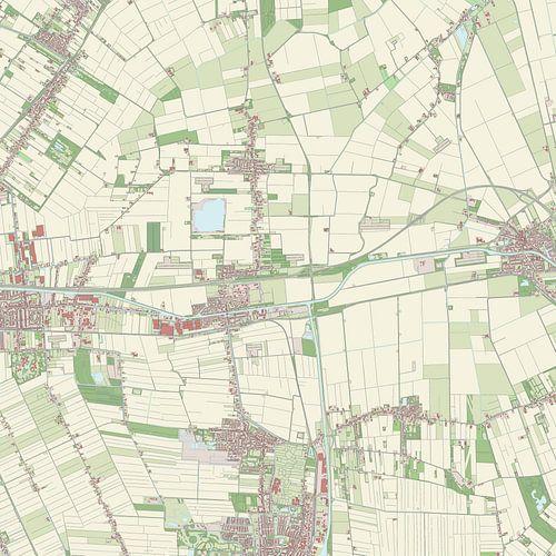 Kaart vanMenterwolde