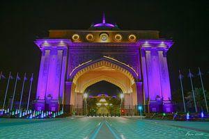 Entree Emirates Palace van