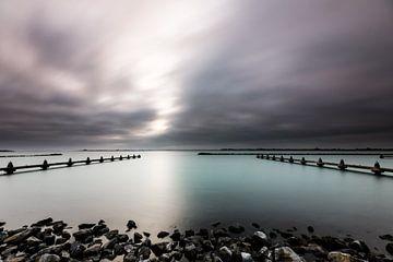 Brouwersdam Zeeland von Eddy Westdijk