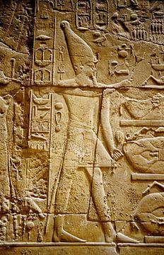 Hieroglyphen - Analoge Fotografie! von Tom River Art