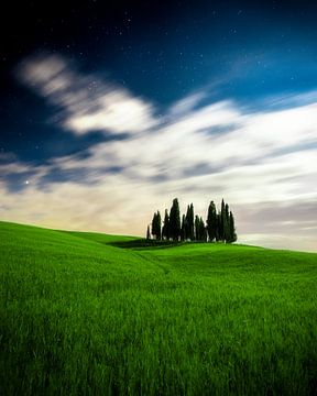 Toskanische Landschaft von Tim Kreike