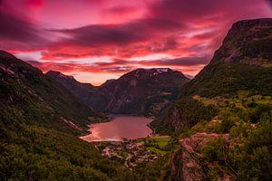 Geiranger Sunset 2
