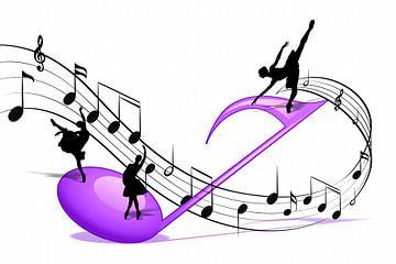 Dansez sur la partition sur Marion Tenbergen