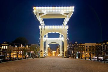 Magere Brug @night Amsterdam van