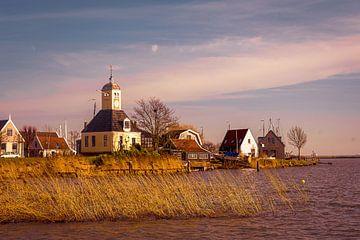 Le village de la digue de Durgerdam sur Saskia Fiolet
