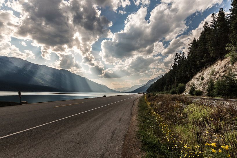 Canadese Rocky Mountains von Bart Veeken