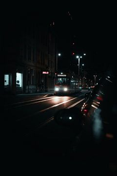 Tram Heidelberg van Timo Brodtmann Fotografie
