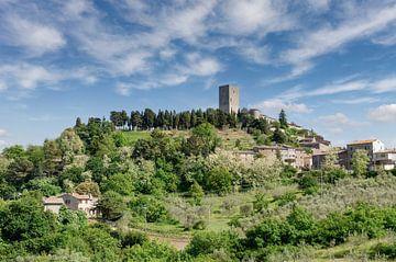 Montecatini Val di Cecina,Toscane van Peter Eckert