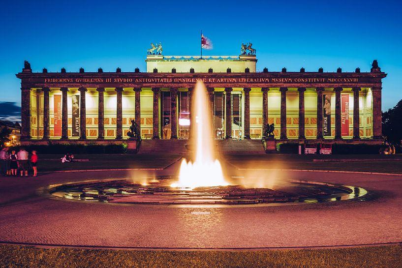 Berlin – Altes Museum / Lustgarten van Alexander Voss