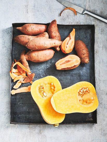 Pompoen en Zoete Aardappel