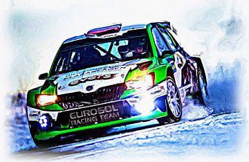 Rallye Skoda von Jean-Louis Glineur alias DeVerviers