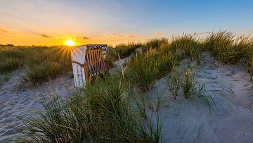 Zonsondergang aan de Oostzee van Denis Feiner