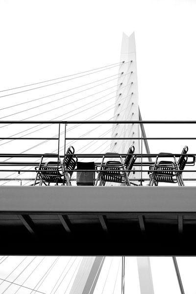 Erasmusbrug Rotterdam van Alice Sies
