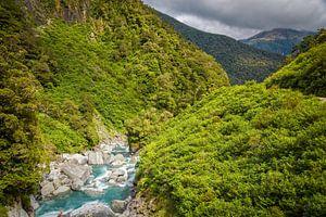Gates of Haast, Mount Aspiring NP, Nieuw Zeeland van