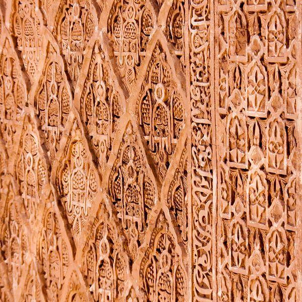 muurversiering marokko van rob van der pijll