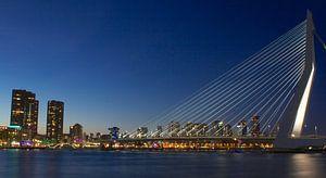 Erasmus brug Rotterdam van