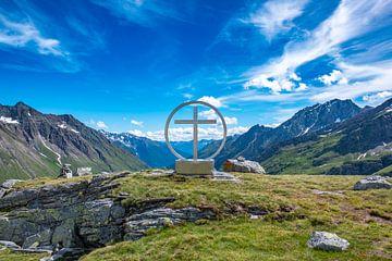 Op de bergtop Spinewitrol(2483m) van Holger Spieker