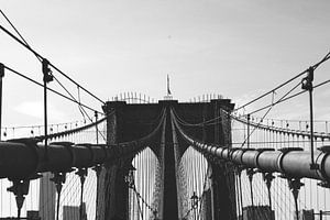 Brooklyn Bridge Up Close van Walljar