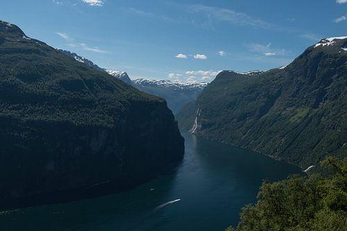 Geirangerfjord van