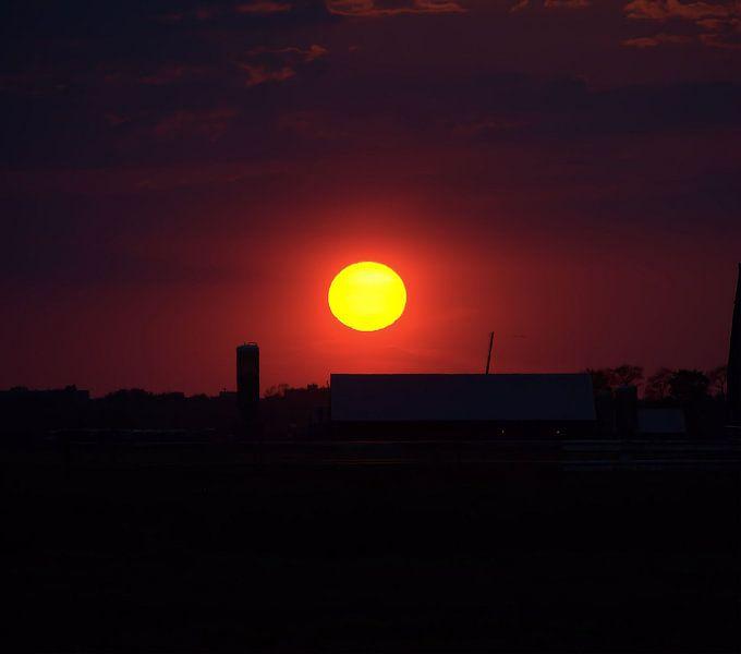 Sunset van Erik van Riessen