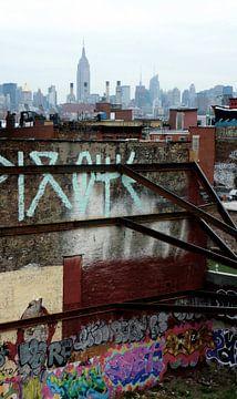 'Graffiti', Brooklyn- New York  van Martine Joanne