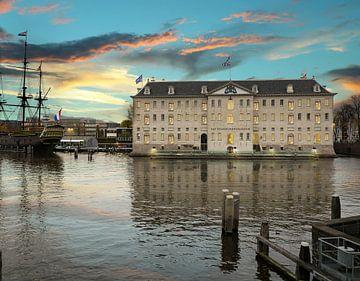 Scheepvaartmuseum Amsterdam van Esther Scherpenzeel