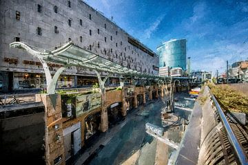 Koopgoot Rotterdam von Digitale Schilderijen