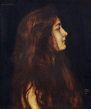 Aschenbrödel, Franz von Stuck, 1899 von Atelier Liesjes