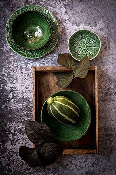 Compositie in groen van Susan Lambeck
