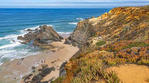 Uitzicht tijdens Fisherman's Trail in Portugal