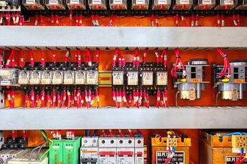 Electriciteitskast van W J Kok