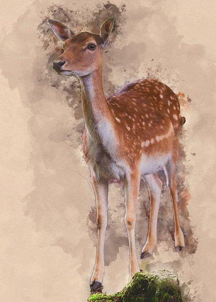 Bambi van Art by Jeronimo