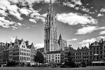 Marktplein Antwerpen van Bob Bleeker