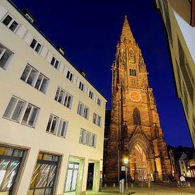 Münsterplatz FreiburgAbendstimmung von Patrick Lohmüller
