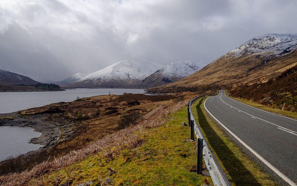 De weg naar de bergen van Koos de Wit