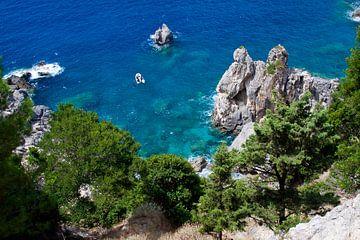 baai Paleokastrites  Corfu von Guido Akster