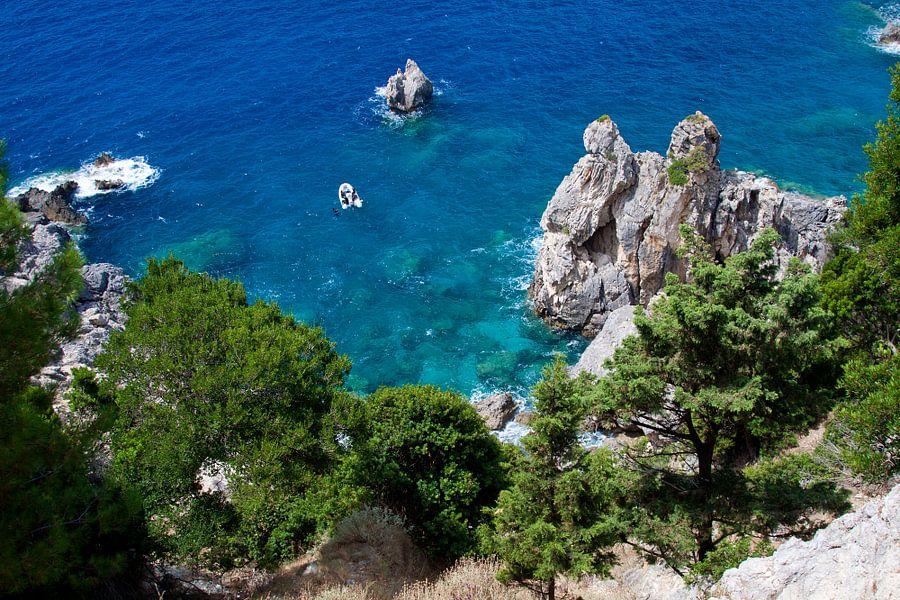 baai Paleokastrites  Corfu