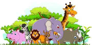 Wildtiere in Afrika von Henny Hagenaars