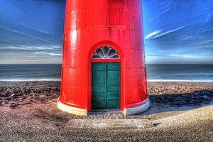 Red lighttower