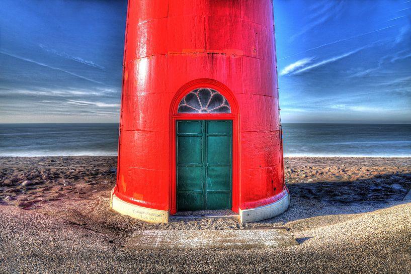 Red lighttower von Jos Hug
