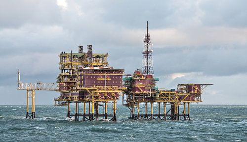Oil Rig von Alex Hiemstra