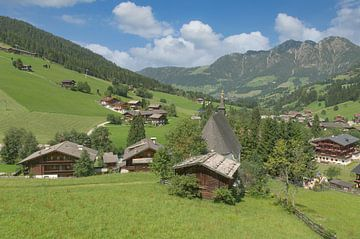 Inneralpbach dans la vallée d'Alpbach sur Peter Eckert