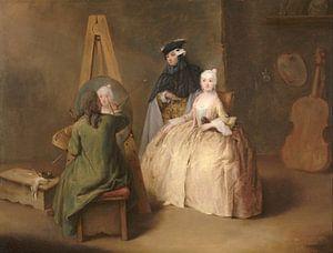 Der Maler in seinem Atelier, Pietro Longhi